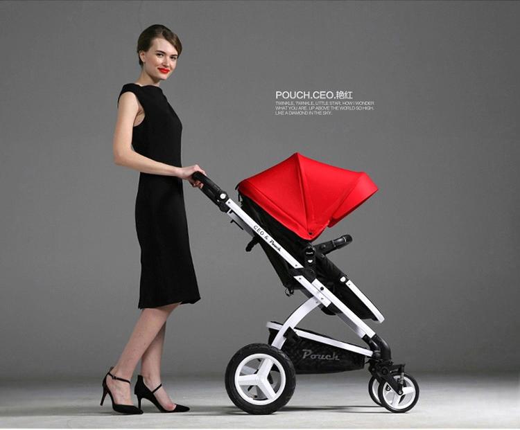 高景观折叠婴儿推车e89
