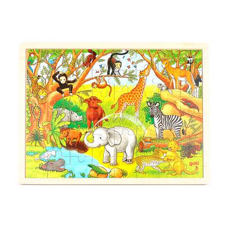 非洲森林动物主题,是最受孩子们欢迎的主题之一,小动物们形态