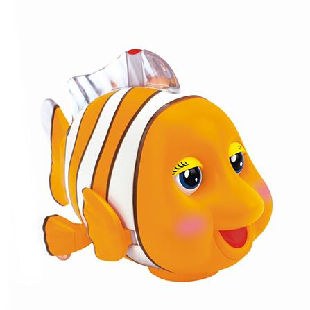 橡皮泥手工制作图片小丑鱼