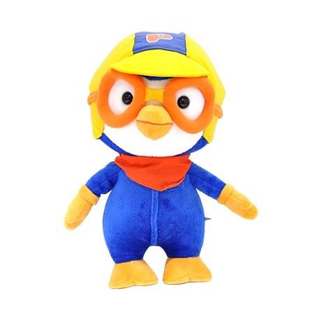 韩国公仔小企鹅毛绒玩具儿童可爱生日礼物 纯棉玩偶 小号28cm