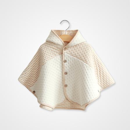 宝宝披风斗篷编织图样
