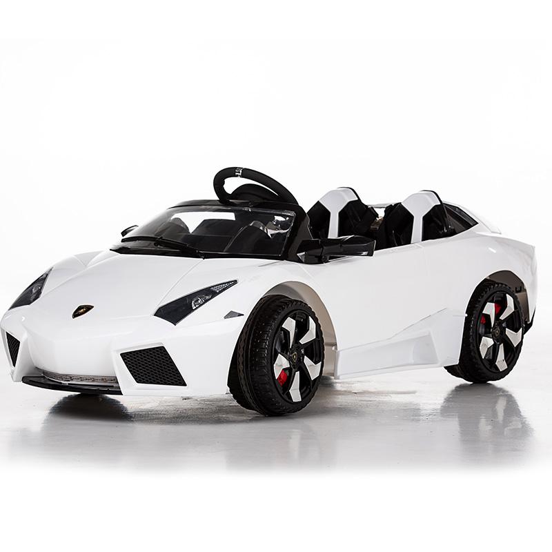 儿童四轮汽车童车双驱玩具车兰博基尼