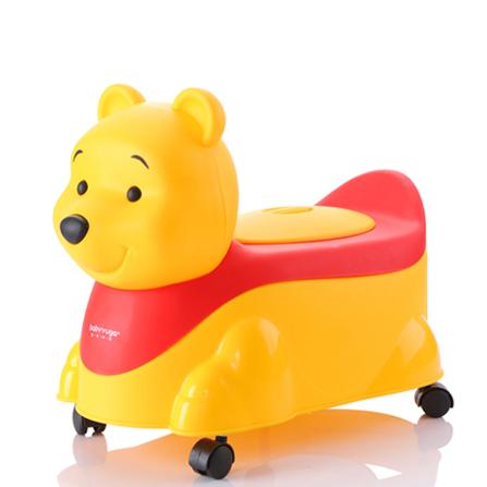 儿童马桶宝宝坐便器 黄