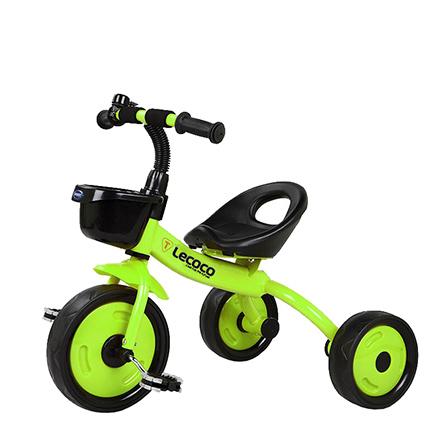儿童三轮脚踏车t301山地轮 芥末绿