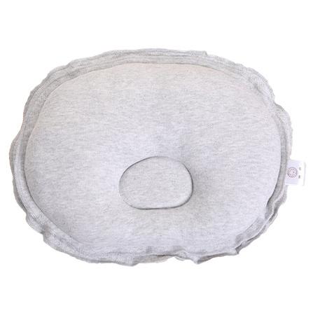 纯棉可爱花边定型枕头 花灰