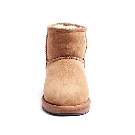 澳洲动物纹雪地靴女士短筒靴羊毛一体冬季新款