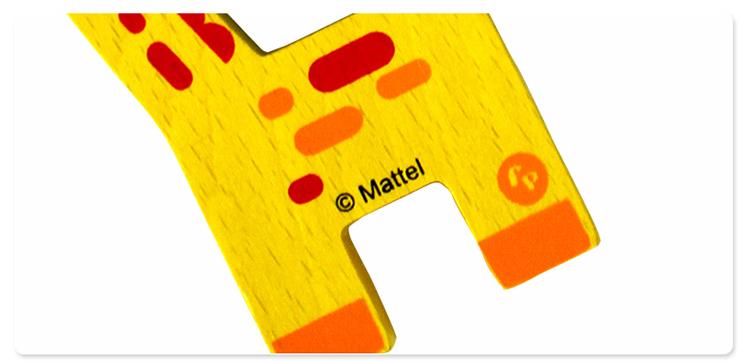 小动物平衡木制玩具积木fp6003 品牌:费雪 fisher price 分类:拼搭