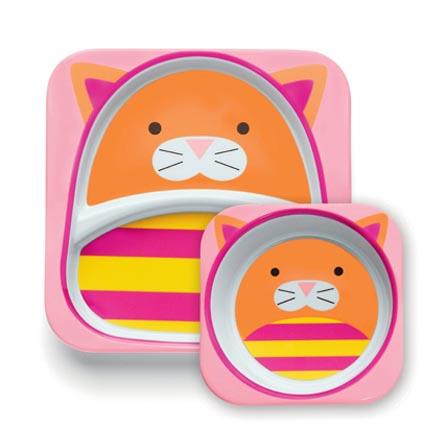 可爱动物园餐具套装(小猫)