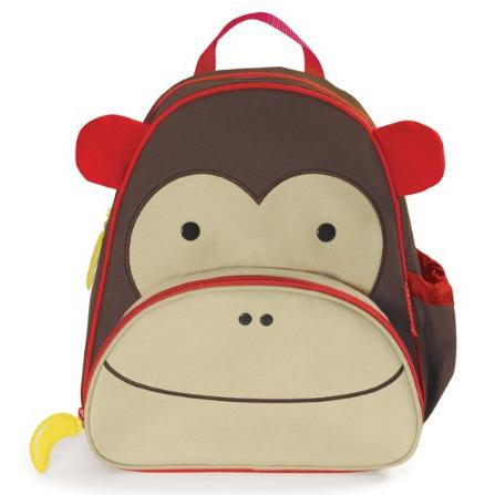 可爱动物园小童背包 猴子