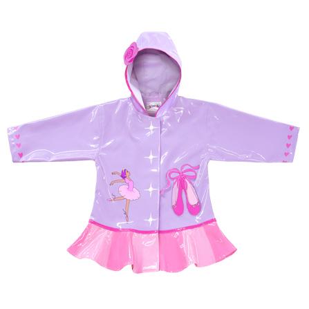 芭蕾公主系列 雨衣(淡紫色)