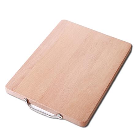德国进口榉木 实木砧板无漆无蜡 长方形抗菌切菜板 长方形厚3.