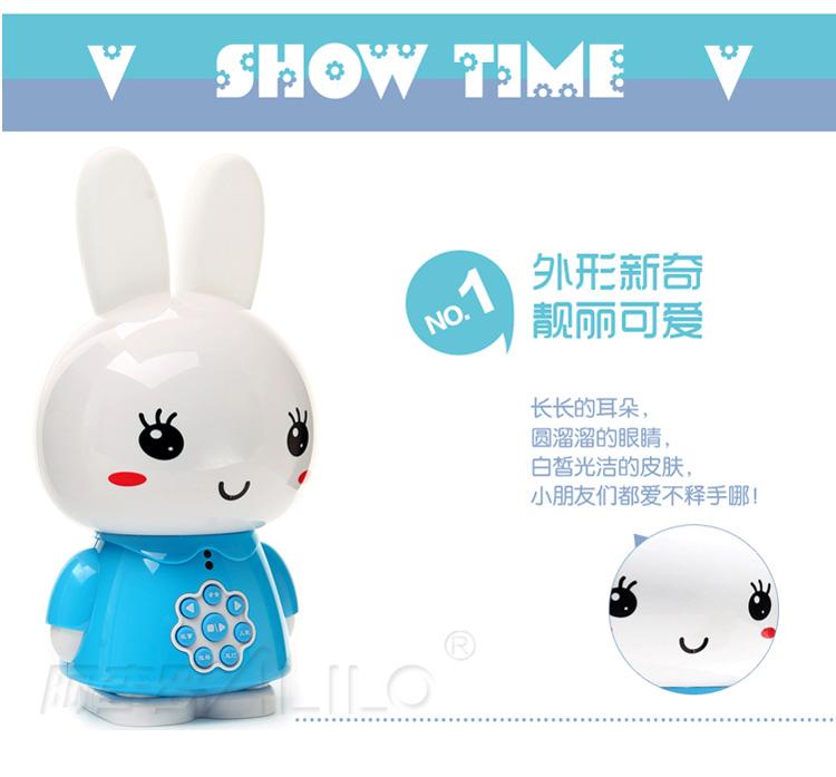 阿李罗火火兔可爱会讲故事小兔子,一个妈妈对火火兔的真实表白:第一