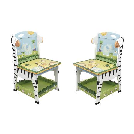 阳光动物园儿童椅两件组
