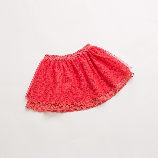 夏季女宝宝花纹裙子15810 白