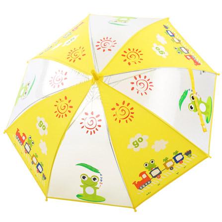 儿童动物图案环保雨伞 青蛙