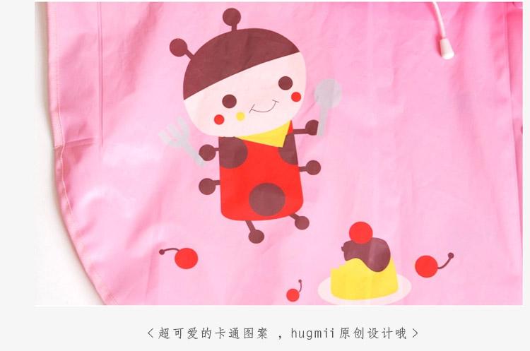 儿童雨披卡通动物男童女童宝宝雨衣 蜜蜂
