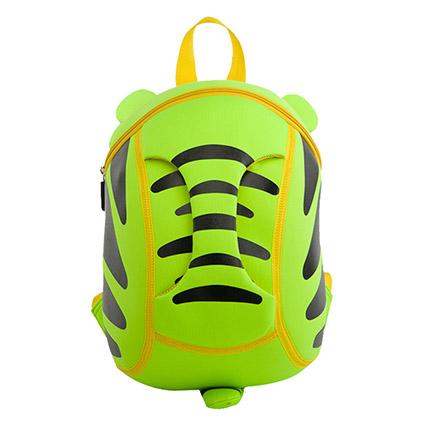小老虎幼儿园儿童书包可爱3d韩版潮包 绿