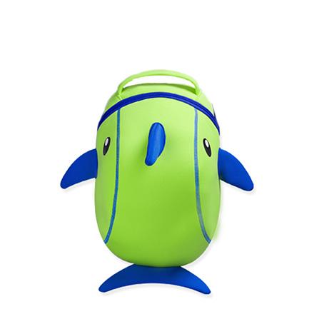 nohoo/诺弧 诺狐可爱卡通小海豚3d幼儿园儿童书包儿童