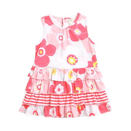女宝宝纯棉背带裙子 13019
