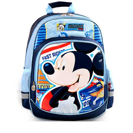 迪士尼户外运动 一年级小学生书包 天蓝