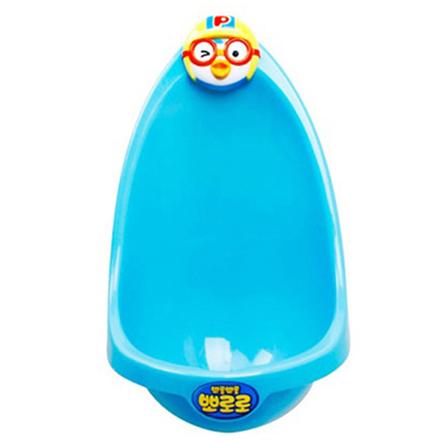 男宝宝挂墙式小便器儿童婴儿坐便器儿童马桶 蓝